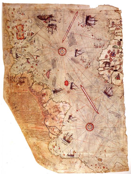 Картата на Пири Рейс