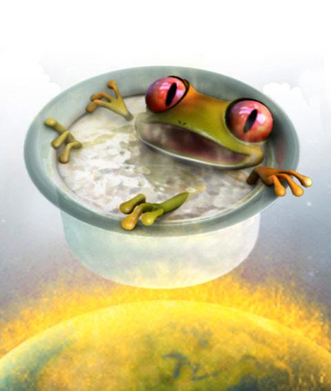 Една сварена жаба
