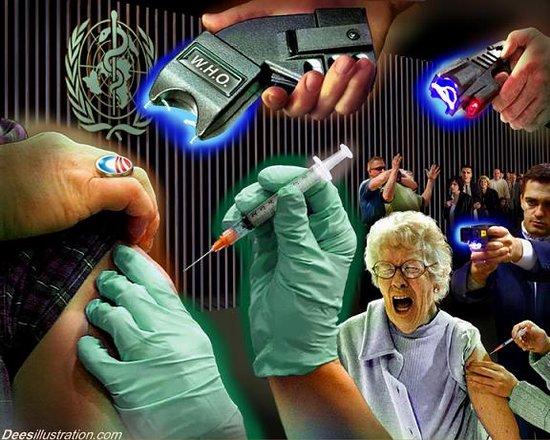 Насилствени ваксинации под егидата на WHO