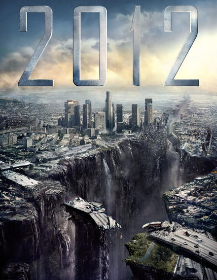 2012 и континентите според Холивуд.