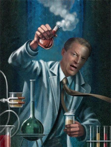 Ал Гор е рекламното лице на индустрия за милиарди