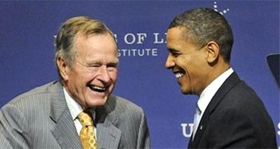 Буш и Обама