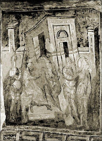 Св. Йоан Кръстител на съд пред Ирод.