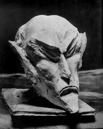 Скулптура по архетипните характеристики на Ариман, направена от Р. Щайнер.