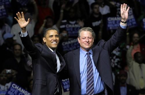 Обама и Гор