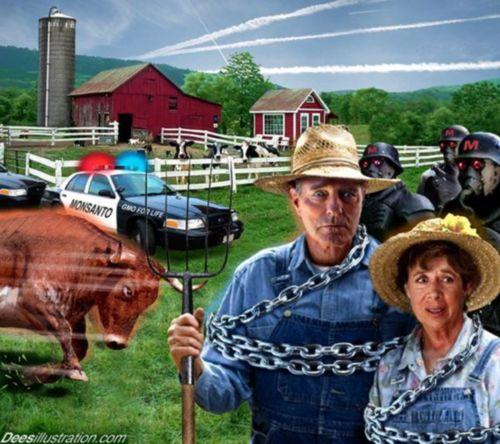 Монсанто репресира фермери